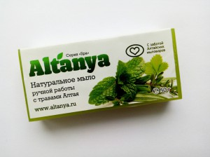 Мыло с травами Алтая, 50г
