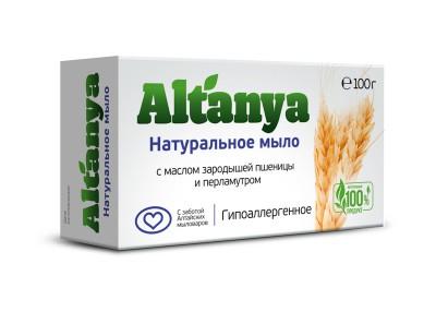 Мыло с маслом зародышей пшеницы