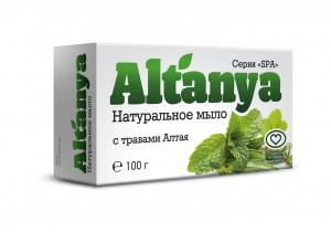 Мыло с травами Алтая